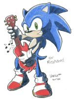 Sonic Rockin' for Freakdood by VanillaREM