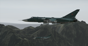 On a combat flight... by BillyM12345