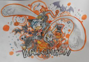 Happy Halloween!!! by Eva-1999