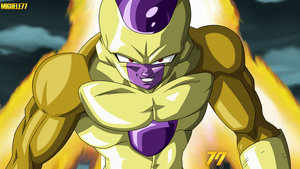 Golden Freeza by Miguele77