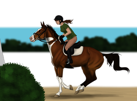 Lady Olympic Training by CollidingStarsStable