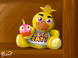 Chica The chicken by SemaBluezero