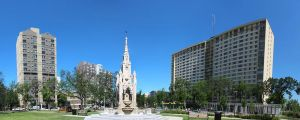 Central Park in Winnipeg 4 Picture Panorama by Joe-Lynn-Design