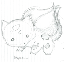 Preview-Sketch-Derpasaur by Happee-Dudlez