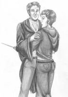 Tonks and Lupin are hot by aleyed