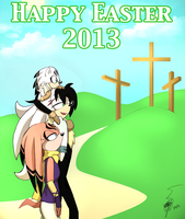 Happy Easter 2013 by CuddlesAndHuggles