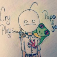 Cry Plays Papo and Yo by Catnap2020