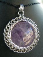 Amethyst Persian fractal wrap by BacktoEarthCreations