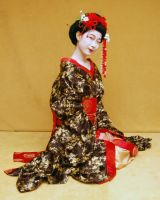 Geisha costume 03 by Idzit