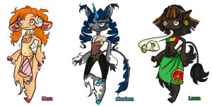 Mythical Creature Adoptables! by Spazzeon