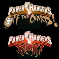 Power Rangers Off The Charts + Roar Logo Concepts by Neumatic