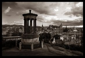 edinburgh view by alanc79