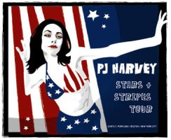 PJ Harvey by mirahsparker