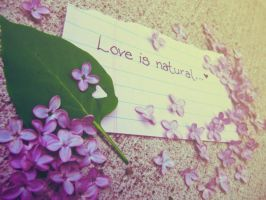 Natural love by s3xkytt3n
