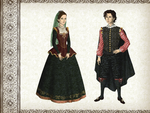 Close to history - Spanish Mannerism fashion by Arrelline