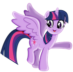 Princess Twilight Sparkel-The Castel Is...that Way by shaynelleLPS