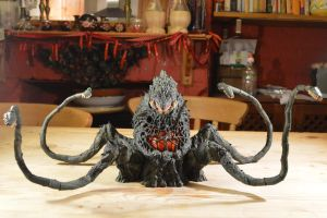 S.H Monsterarts - Biollante (2/10) Front View. by GIGAN05