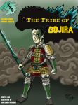 The Tribe of Gojira, Front Cover by kaijukid