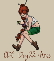 CDC - Day 22 - Aries by mel-de-ly