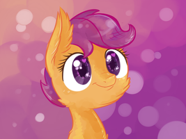 Scootaloo by Reporter-Derpy
