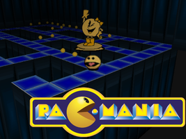 Pac-Mania 2:Pac-man park screen shot. by triplesonicX
