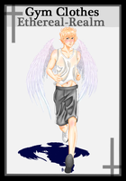 Ethereal Realm: Caelius Marques Gym Clothes Meme by xxxstarrynightzxxx