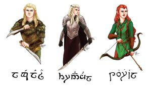 Elves of Mirkwood by thecapturedspy