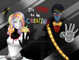 Dhmis: It's TIME to be CREATIVE! by anvilgurl