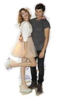 Tini y Diego png by militinista10