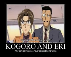 Kogoro and Eri by linster25