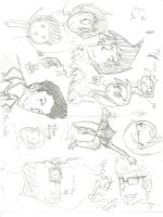 sketches im to lazy to rotate 2 by geoffwrite