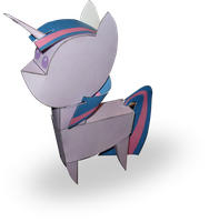 Twilight Sparkle doll papercraft by RocketmanTan