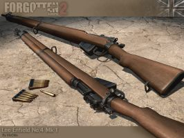 Lee Enfield No.4 Mk1 by McGibs