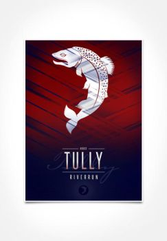 House Tully Sigil III (house seat) by P3RF3KT