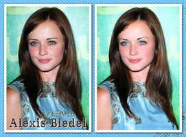 Retouch 2 Alexis Bledel by d3bbyeglitter