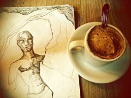 Draw and Coffe by ELORACUCA