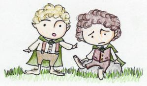 Little Hobbits by SmudgeThistle