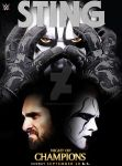 Night of Champions 2015  - Sting vs. Seth Rollins by GrimmjawJack