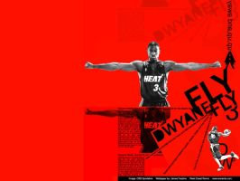 Dwyane Wade Wall by austin671