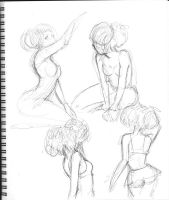 Dr. Sketchy's Live Art nr.17 by camilladerrico