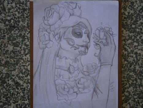 Mexican death paintings by Khov97
