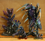 Small sample of Hive Fleet Khaaloobh by FeralNoesis