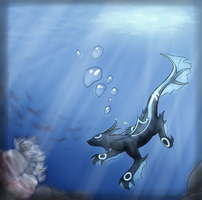 In the Deep by Sasoragon