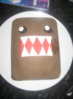 domo kun cake for summer party by Laura-Bosley