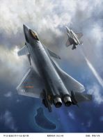 F-20 expulsion F35 by huihui1979