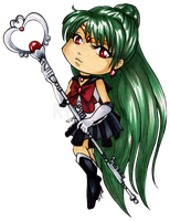 Chibi Sailor Pluto by Ranefea