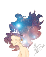 Queen of stars by Kiktion