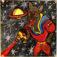 Space Rat by xashesfallx