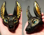 Anubis Doll 3 (WIP) by gebrek