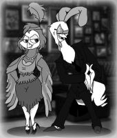 Birds of a Feather: Vintage by SpiketheKlown